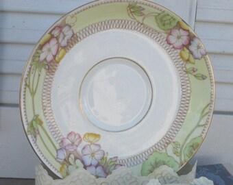 "Vintage Sampson Smith Ltd. OLD ROYAL CHINA ""Spring Pansy"" Saucer"