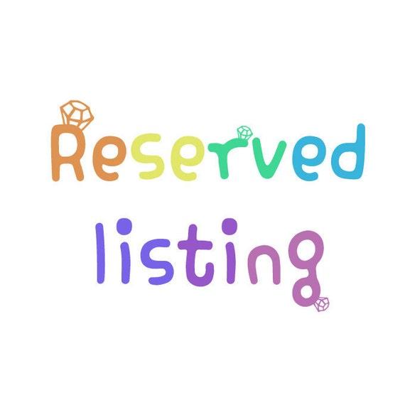 Reserved listing for kvitka17