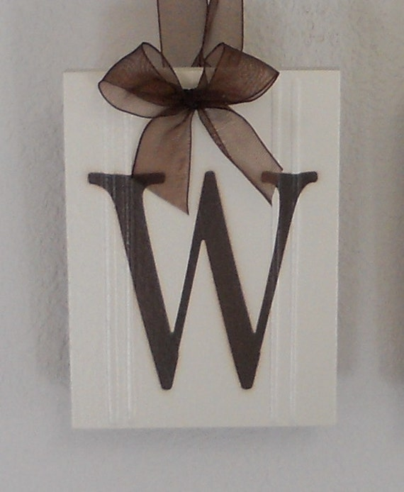 bath sign custom hanging letters brown ribbon wall letters wood welcome sign home wall decor hanging ribbon letters 748