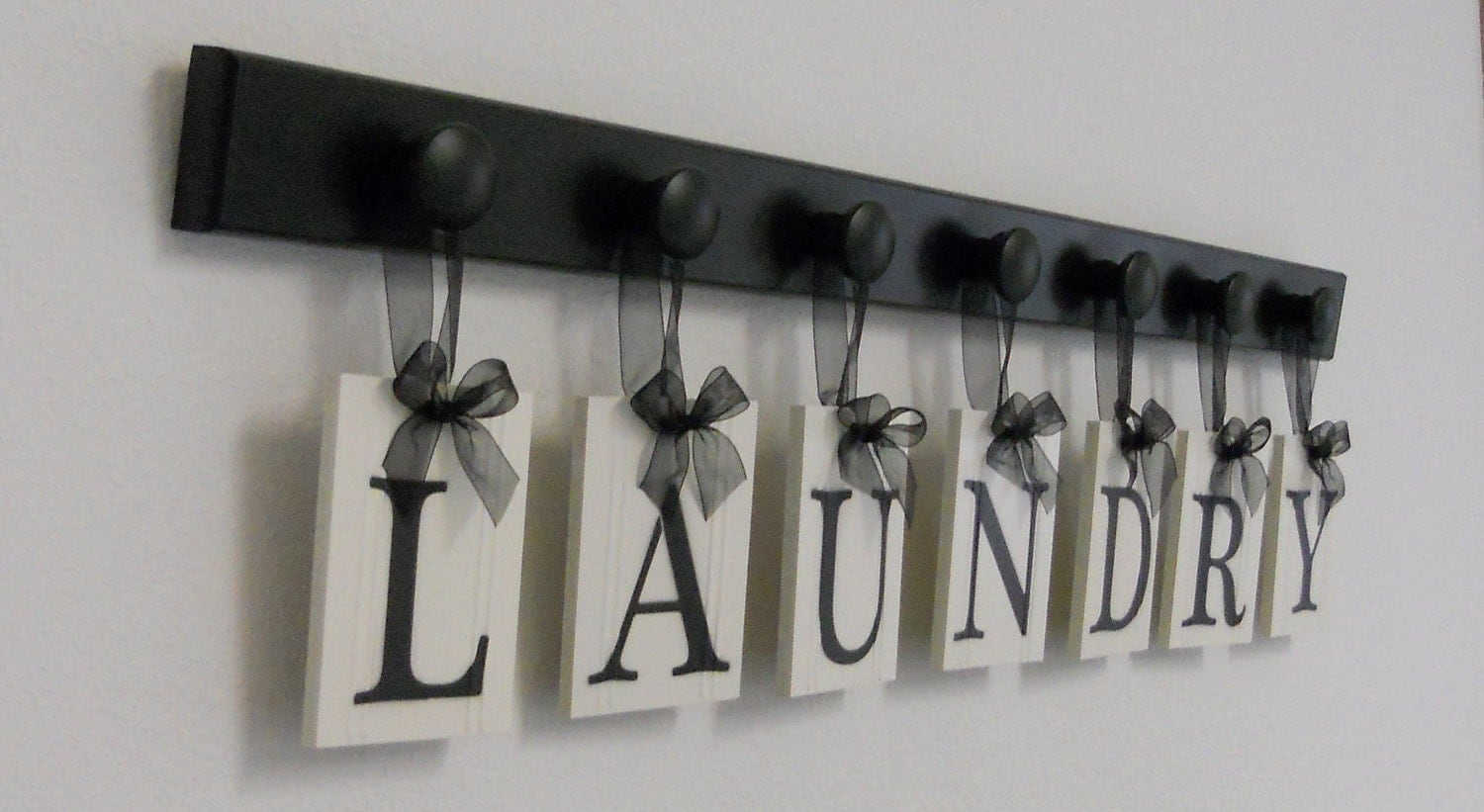 Laundry room sign wall decor personalized hanging by for I sign decoration