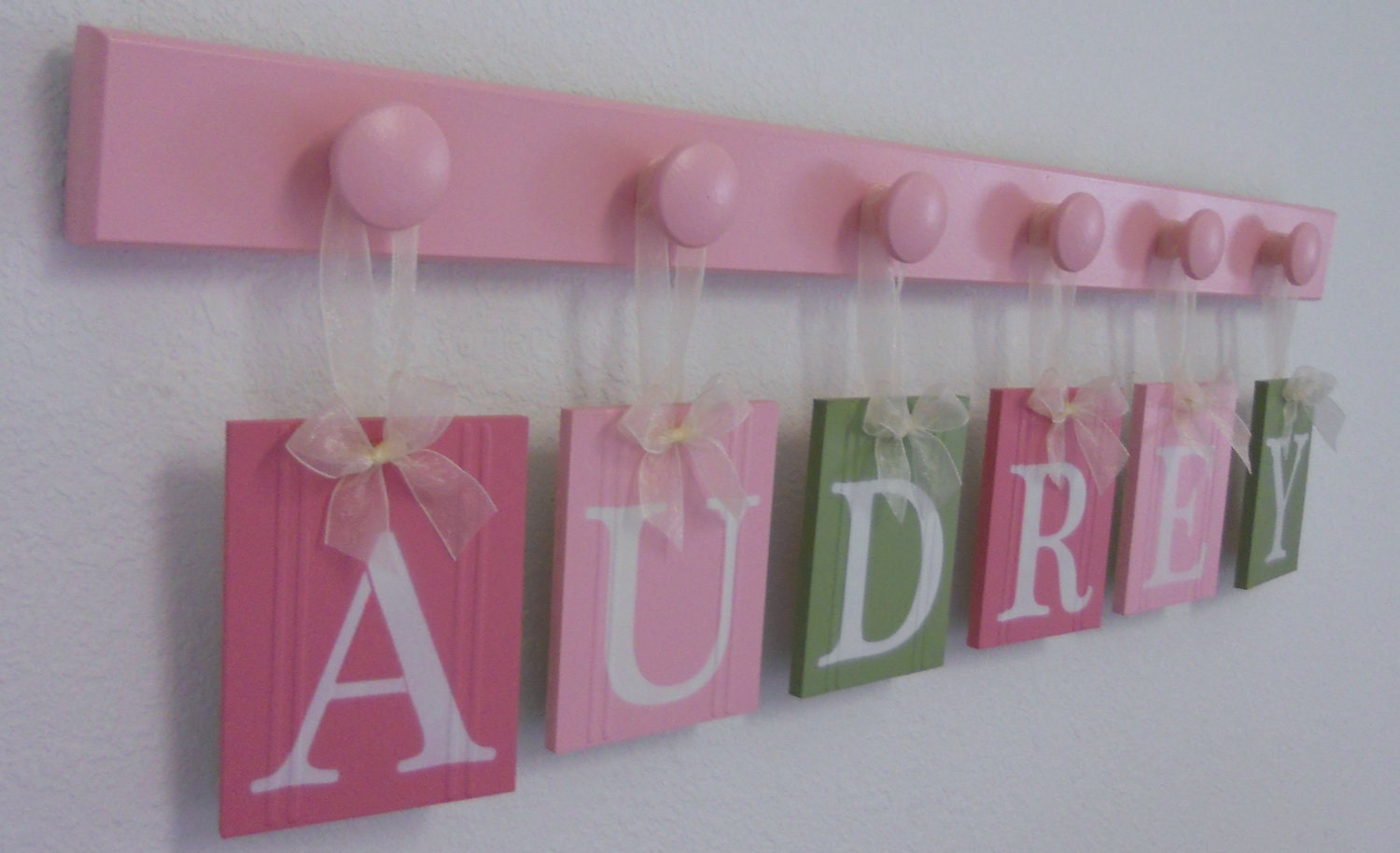 Designer baby nursery name decor baby girl nursery gift for Baby name decoration