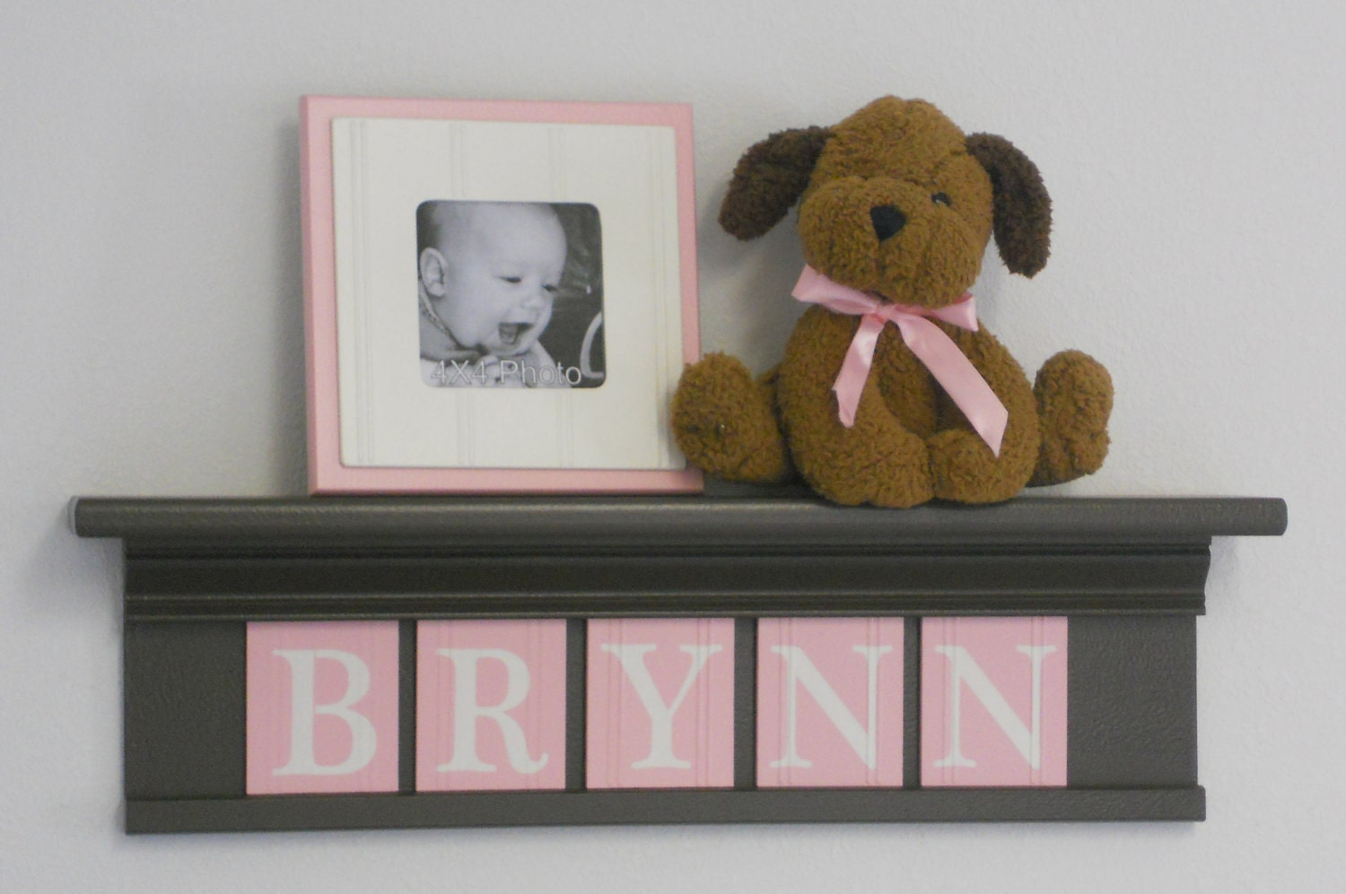 Baby Girl Nursery Decor Wall Letters Personalized By