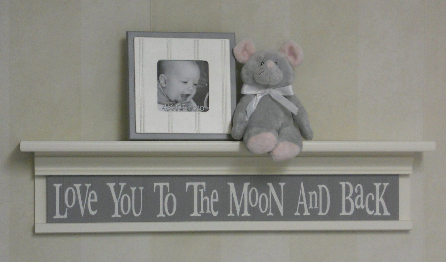 Grey baby nursery decor baby wall decor baby room decor for Room decor etsy
