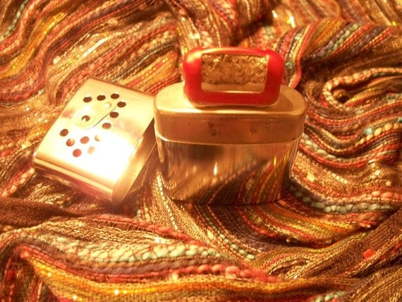 Vintage JON E Stainless Steel Hand Warmer RESERVED until Friday 12/10