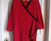 Vintage Carolina Herrera Red Dress