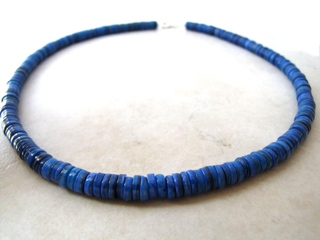 Sapphire Necklace For Men images
