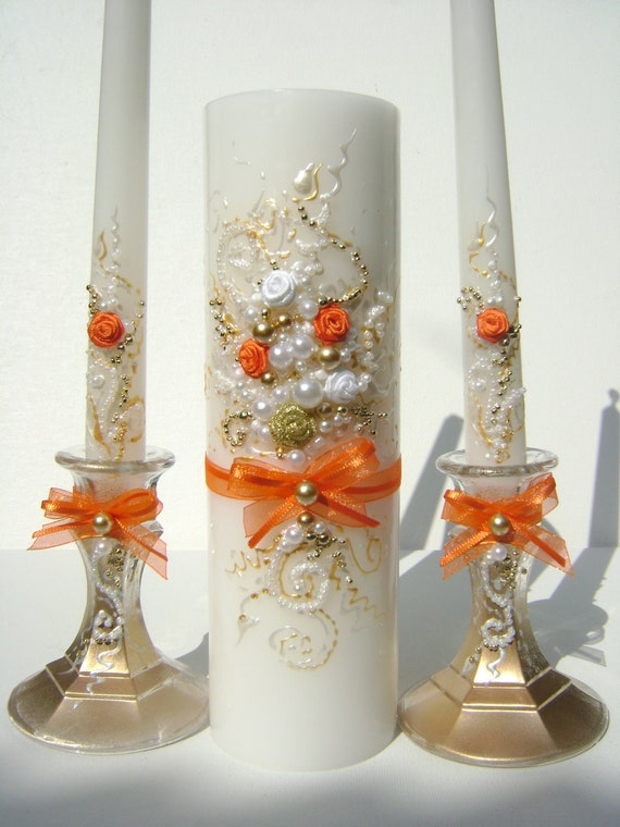 Unity Candle Set Perfect Wedding Candles For Your Unity