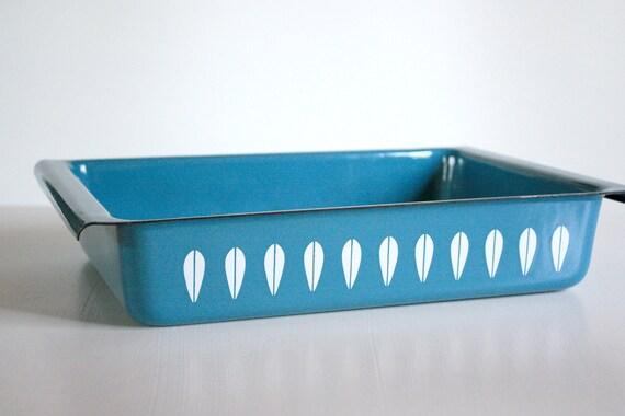 Blue Lotus Cathrineholm Baking Pan