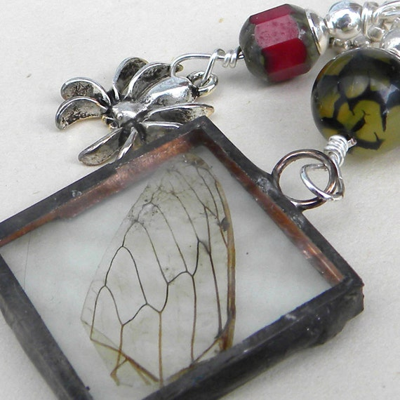 Unusual Necklace Witchs Magic Spell Hand Soldered By Msemrick
