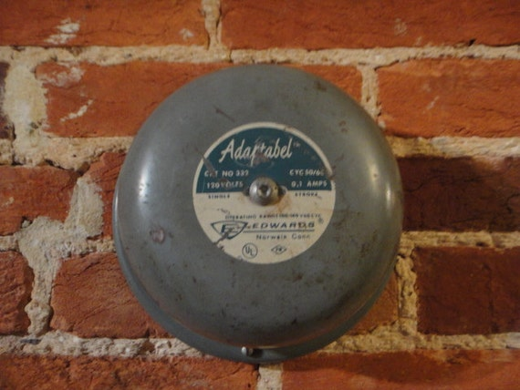 Vintage Edwards Adaptabel 333-4G1 Single Stroke Electric Bell