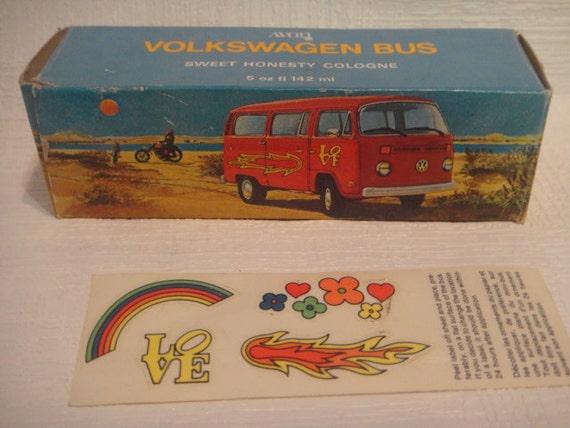 avon volkswagen bus full bottle sweet honesty cologne with. Black Bedroom Furniture Sets. Home Design Ideas