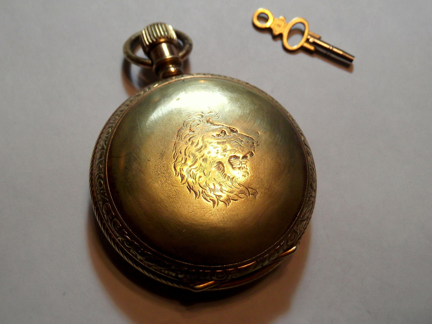 unique pocket circa 1890s manufactured by manhattan with