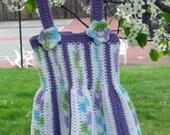 Crochet Sundress, 12 Month Old