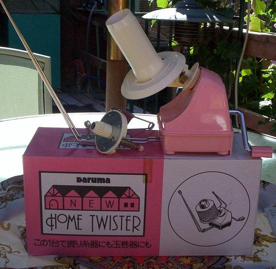 Yarn Twister.  Daruma Home Twister.  New in Box Daruma New Home Twister.  Instructions.  Made in Japan