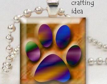 Animal paws digital collage sheet - Digital download - 1 inch squares - Printable digital collage sheet - Scrapbooking -  BUY 3 get one FREE