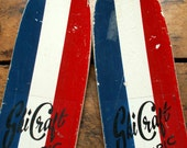 Reserved for Karen Costa - Vintage Red White and Blue Patriotic Trick Water Skis
