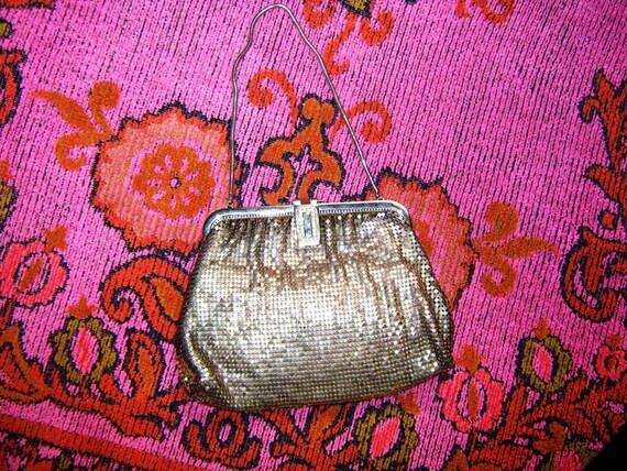 Vintage Antique Sterling Silver Evening Bag Purse whiting & davis