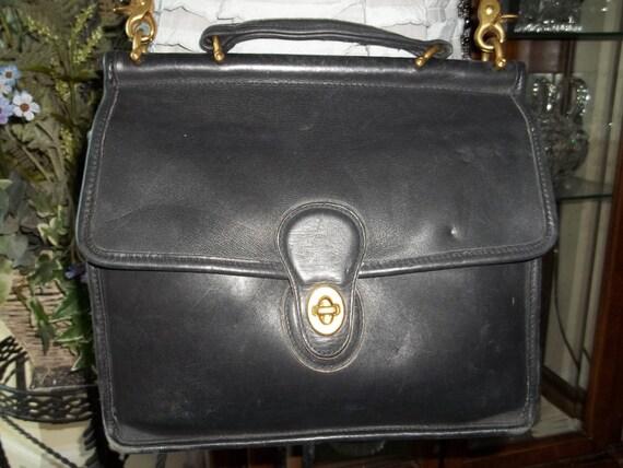 Vintage COACH Satchel / Messenger Bag