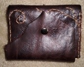Beautiful hand stitched leather journal