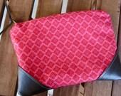 Pink Patterned Makeup / Pencil Bag
