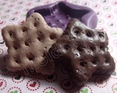 Star Cracker flexible silicone mold / mould