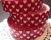 Japanese Washi masking tape ( 1 pc) hearts