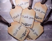 Thank You Tags / wedding tags / Gift Tags (Qty 25)