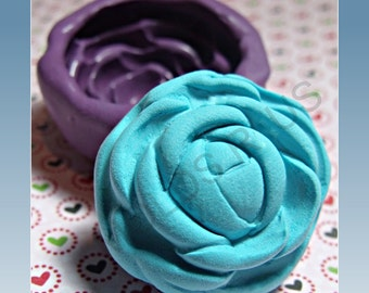 Large Peony flower flexible silicone mold/ mould