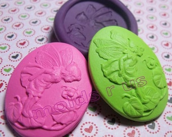 Fairy In the Garden flexible silicone mold / mould