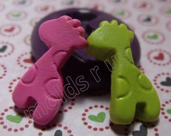Giraffe Flexible silicone mold / mould