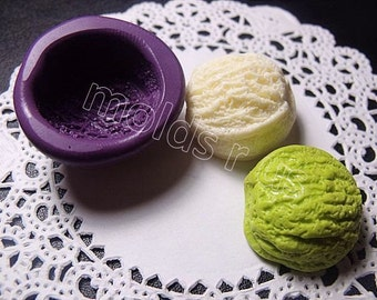 yummy Ice Cream scoop flexible silicone mold / mould