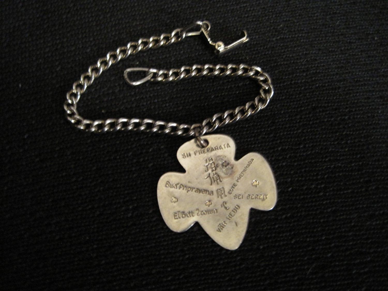 vintage scout trefoil charm bracelet 1950 be by