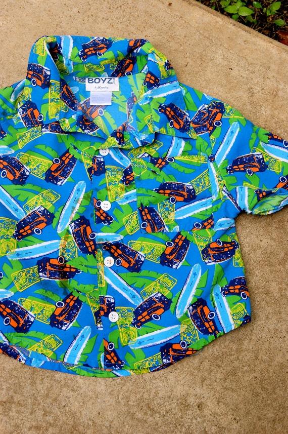 Surfer Boy 2T Hawaiian Shirt