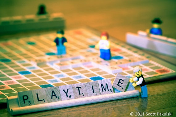 Lego Photograph - Playtime - Limited Edition print no. 10/75