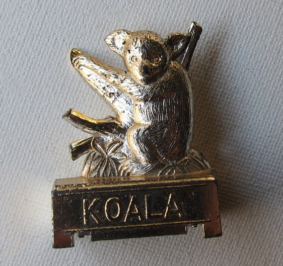 Vintage kitsch Japanese koala pencil sharpener