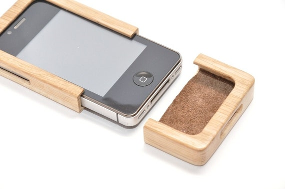 iPhone 4G wooden case PC002