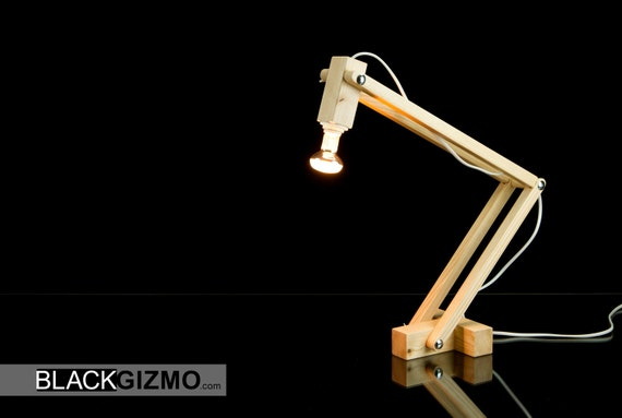 Wooden Desk Lamp DL016