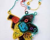 Statement Necklace in vivid colors