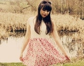 English Rose Floral & Lace Summer Dress