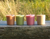 """A """"Scents of Vermont""""  Sampler of  Handpoured 2oz Votives Made in Vermont"""
