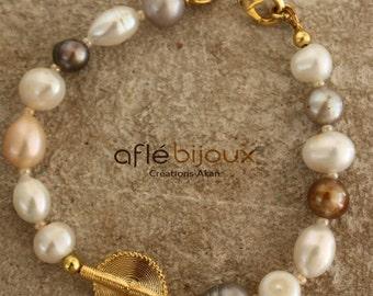 Aflé Bijoux Pearls Bracelet