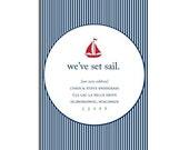 4x6 We've Set Sail Moving Announcement