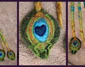 1 embellished dreadlock, peacock, for you