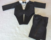 Infant Tuxedo in Black  size 0 to 3 months