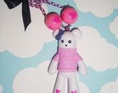 Kawaii Teddy Bear Gumball Necklace