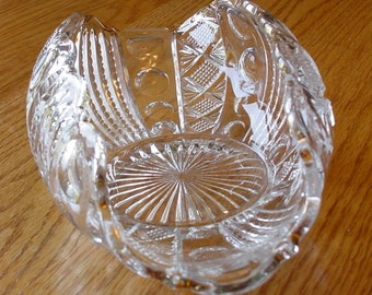 Vintage Crystal Candy Dish Wedding