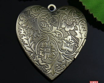 Bronze Heart Locket