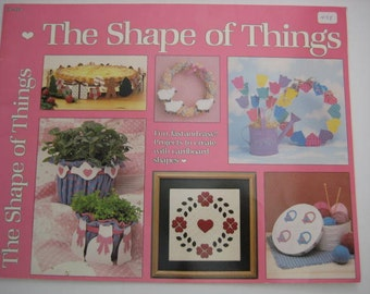Cardboard Shapes Projects Book by GIck Publishing - 1985