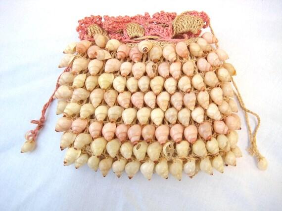 Vintage Sea Shell Evening Bag
