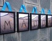 Sand Writing Wall Letters - 5 x 7 Digital Prints